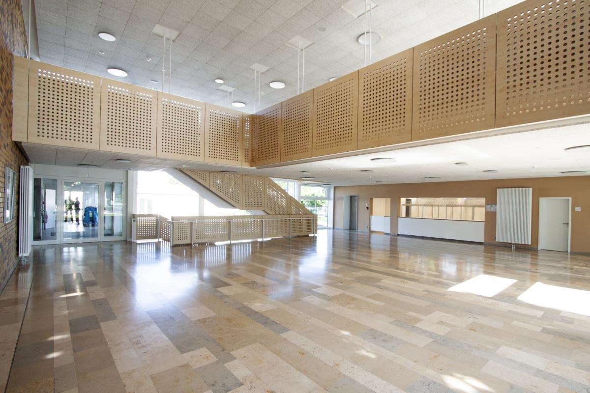 Bechem+Post Sanierung der Sporthalle